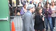 Sarah Hyland boyfriend Matt Prokop leave Good Morning America in New York on