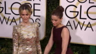 Sarah Paulson and Amanda Peet at the 74th Annual Golden Globe Awards Arrivals at The Beverly Hilton Hotel on January 08 2017 in Beverly Hills...