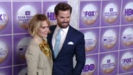 Sarah Paulson Andrew Rannells at Family Equality Council's Los Angeles Awards Dinner at The Beverly Hilton Hotel on February 28 2015 in Beverly Hills...