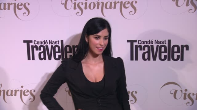 Sarah Silverman at Conde Nast Traveler Celebrates 'The Visionaries' And 25 Years Of Truth In Travel in New York 09/18/12