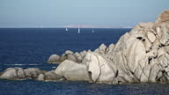 Sardinia, Capo Testa, Olbia-Tempio. Santa Teresa di Gallura, peninsula eroded by winds