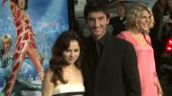 Sasha Cohen and Evan Lysacek at the 'Blades of Glory' Premiere at Grauman's Chinese Theatre in Hollywood California on March 28 2007