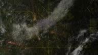 Satellitenfernsehen mit Blick