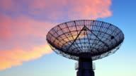 4K: Satellite Dish Communications Tower