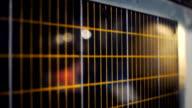 Satellite Sonnenkollektor-Nahaufnahme anzeigen