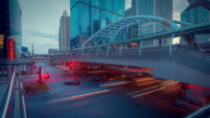 Sathorn Intersection Motion Timelapse