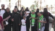 Saudi Arabia invites women to a sports stadium for the first time to attend annual national day celebrations with their families opening up a...