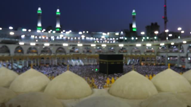 Saudi-Arabien. Pilger umrunden siebenmal, ihre Unterwerfung unter die Religion zu zeigen