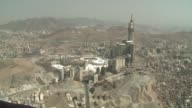 Saudi Arabia said that around 198 million pilgrims are performing this years annual Muslim pilgrimage the hajj CLEAN Stockshots of Mecca and security...