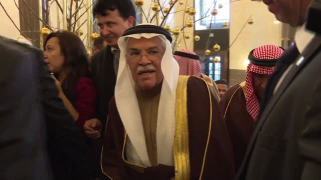 Saudi Arabias oil minister was the first minister arrived in the Austrian capital on Tuesday ahead Fridays meeting of the Organization of the...