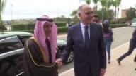 Saudi Foreign Minister Adel al Jubeir met on Wednesday with his Moroccan counterpart Salahdine Mezouar in Rabat