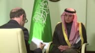Saudi Foreign minister Adel al Jubeir spoke about the conflicts in Yemen and Syria and oil production during an exclusive interview to AFP on...