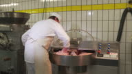 Sausage production