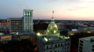 Savannah City Hall at Dusk
