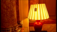 Savoy Hotel closes for 100 million pound facelift items being sold at auction ENGLAND London Savoy Hotel INT Various of items from Savoy Hotel being...