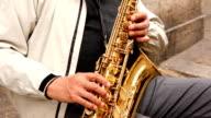 Saxophon-Spieler (HD