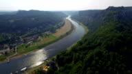 Saxon Switzerland Aerial View