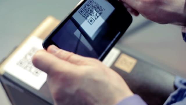 Scannen QR-code mit Smartphone