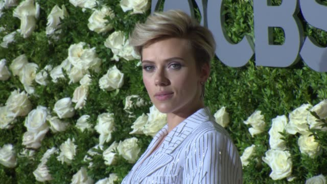 Scarlett Johansson at 2017 Tony Awards Red Carpet at Radio City Music Hall on June 11 2017 in New York City