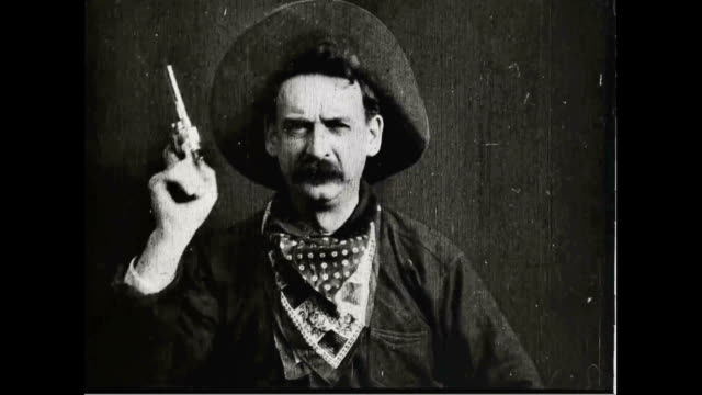 Scene from 'The Great Train Robbery'