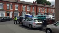 Scene of a stabbing in Moseley Birmingham that occured late on Sunday night A man named locally as Sajad Hussain was left mortally wounded on his...