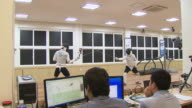 MS Scene of scientific analysis through fencing match / Seoul, Seoul, South Korea