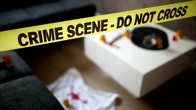 Scène van de misdaad