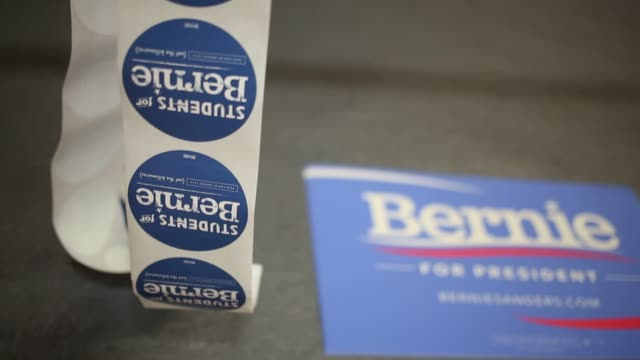 Scenes from a campaign event for Senator Bernie Sanders an independent from Vermont and 2016 Democratic presidential candidate in Orangeburg South...