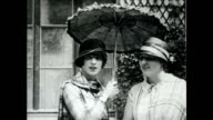 Scenes from the lives of wealthy Parisians in the 1920's