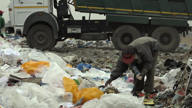Scenes of people living on the Dandora Dumping site in Nairobi as the biggest in East Africa