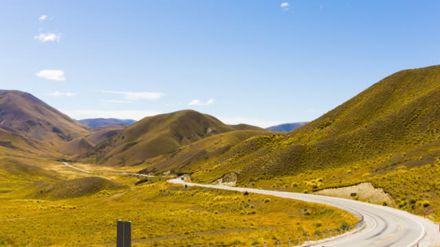 Scenic at Lindis Pass, Otago, New Zealand