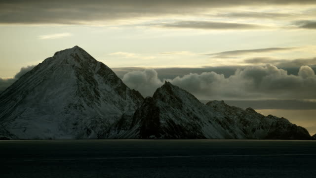 Scenic Shot Of Arctic Mountains