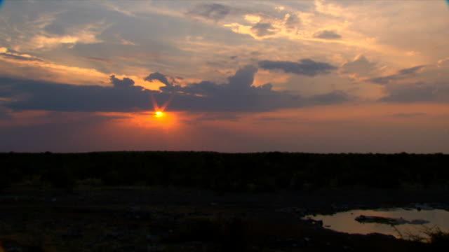 T/L Scenic sky/ Etosha National Park/ Namibia