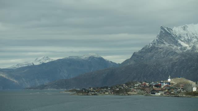 Scenic View Of Greenland Coast