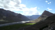 Scenic view of mountain at Spiti