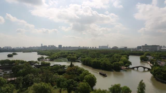 Scenic view of the South Lake,Jiaxing,Zhejiang Province,China