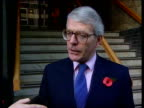 School discipline/Ridings school CMS John Major MP speaks to press SOT The Ridings is not representative of schools in the country