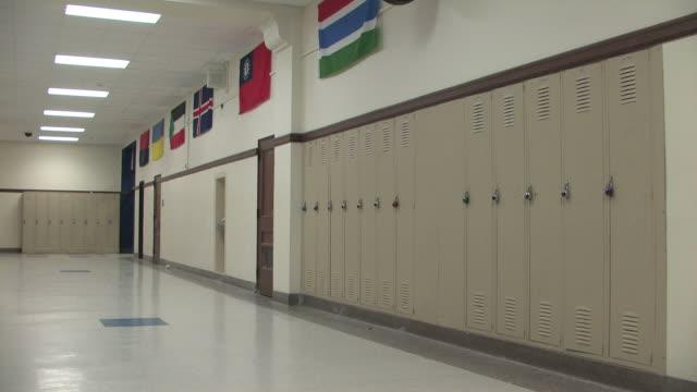 School Hallway Pan