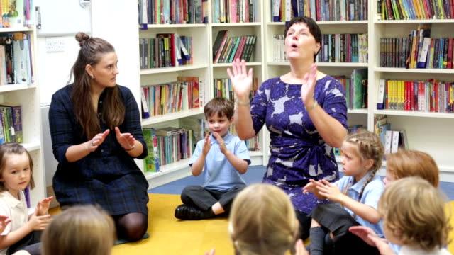 School Singing Lesson