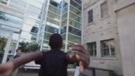 School Student Recreation 4K 4:2:2 Slow motion