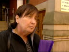 Teacher jailed for manslaughter GRANADA Manchester Janet Wilson interviewed SOT They should not be in fear Fleetwood Flowers outside school which Max...