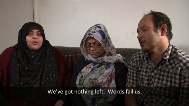 Schoolboy death from asthma during school detention Ashrafuz Zaman interview SOT Bow School where Nasar Ahmed fell ill during a detention Sign...