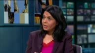 Schoolgirls in Merton recommended to start families earlier to avoid fertility problems ENGLAND London GIR INT Dr Geeta Nargund and Jane Lunnon LIVE...