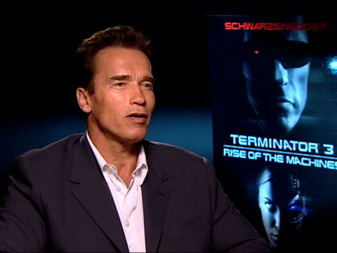 Schwarzenegger interviewed SOT I always have a share of the gross much more motivated to work/ whatever it takes you will put in then in order to...