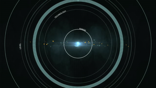 HUD Sci Fi graphics background