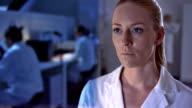 CU Scientist Working In The Futuristic Laboratory