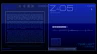 03. Sci-fi Button - Stock video