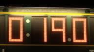 Tabellone segnapunti, punteggio, scheda, cronometro, orario cronometro, sport
