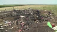 Scores of bodies recovered at the crash site of Malaysian plane MH17 in Ukraine have been removed an AFP reporter on the scene said on Sunday