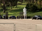 Scores of Michael Jackson's family and friends arrived at a Los Angeles funeral home here Tuesday to bid farewell in private to the pop icon almost...